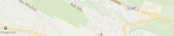 Karte Manoir Plessis Bellevue Saumur