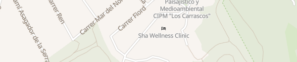 Karte SHA Wellness Clinic Albir