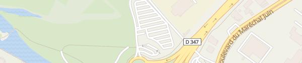 Karte Rond-Point du Carrousel Saumur