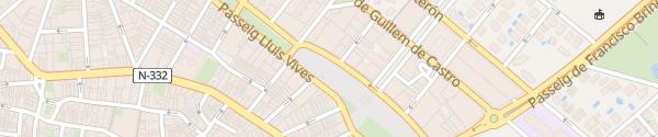 Karte Carrer del Pare Antoni Salelles Oliva