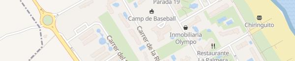 Karte Hotel Tres Anclas Gandia