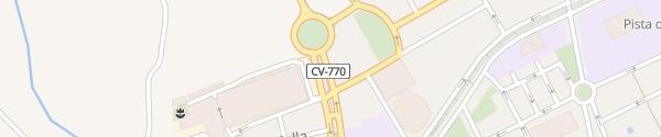 Karte Avinguda Pianista Gonzalo Soriano Villajoyosa