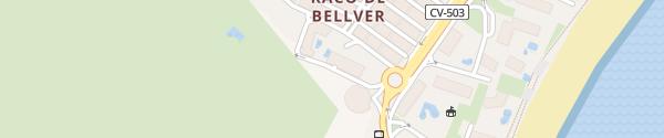 Karte Destination Charger Hotel Cullera Holiday Cullera