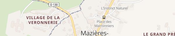 Karte Place des Marronniers Mazières-en-Gâtine