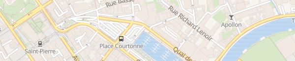 Karte Port de Plaissance Caen