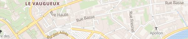 Karte Hôtel Mercure Caen
