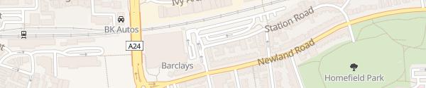 Karte Morrison's Worthing