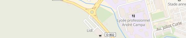 Karte Lidl Jurançon