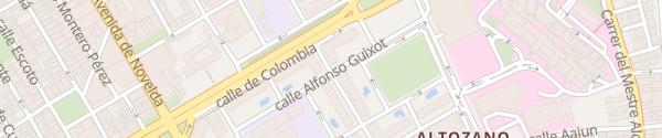 Karte Estacionamiento Alicante