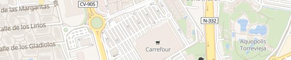 Karte Carrefour Torrevieja