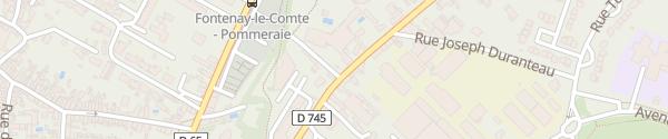 Karte Le Rabelais Fontenay-le-Comte