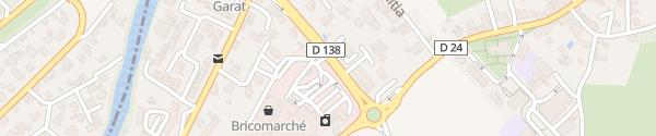 Karte Avenue du Général de Gaulle Chéraute