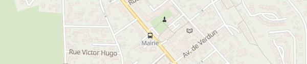 Karte Parking Mairie Audenge