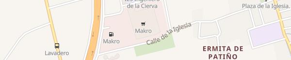Karte Hipermercado Makro Murcia