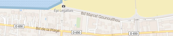 Karte Place Carnot Arcachon