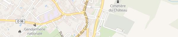 Karte Rue du Général de Gaulle Les Essarts