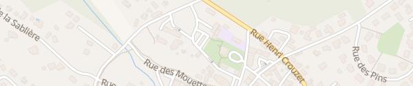 Karte Rue des Arènes Lit-et-Mixe