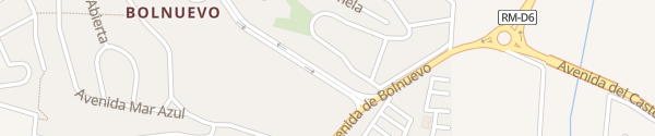 Karte Atrium Hotel Bolnuevo