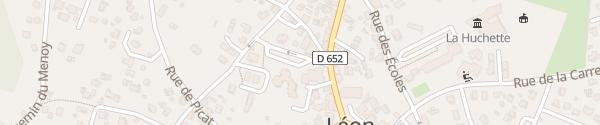 Karte Place de L'Abbé Dulong Léon