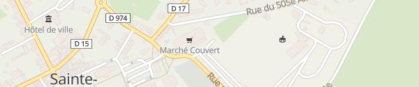 Karte Parking Rue de la Liberté Sainte-Mère-Église