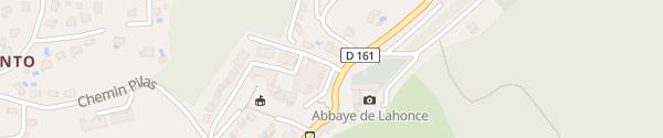 Karte Place Louis Lafargue Lahonce
