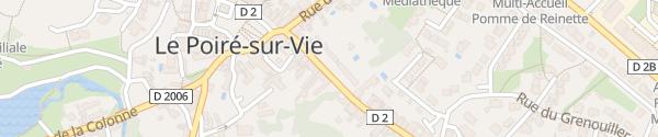Karte Rue De La Chapelle Le Poiré-sur-Vie