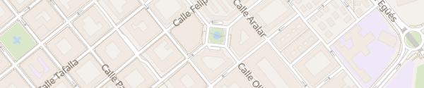 Karte Plaza Blanca de Navarra Pamplona