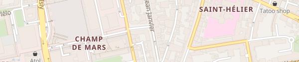 Karte Novotel Spa Rennes Centre Gare Rennes