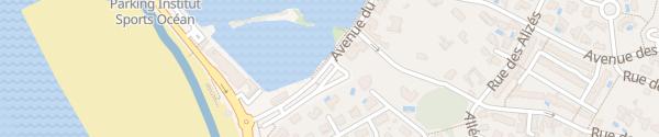 Karte Avenue du Lac Le Château-d'Olonne