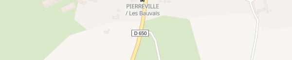 Karte Parking Route des Isles Pierreville