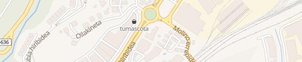 Karte Hotel Ibis Irun