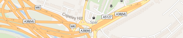 Karte Birmingham Armada Birmingham
