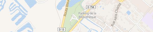 Karte Rue de la Taillée Bourgneuf-en-Retz