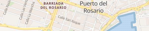 Karte Calle Secundino Alonso Puerto del Rosario