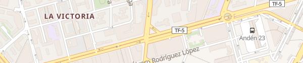 Karte Avenida Tres de Mayo Santa Cruz de Tenerife