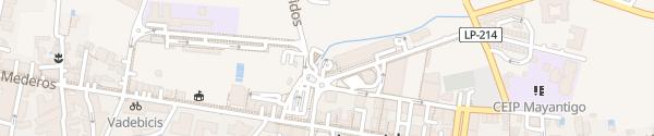 Karte Lidl Los Llanos