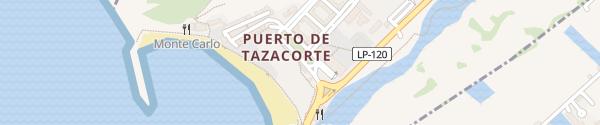 Karte Puerto Tazacorte