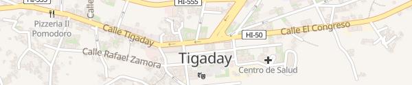 Karte Calle el Congreso Tigaday