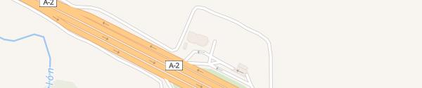 Karte Tesla Supercharger Ariza