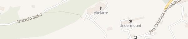Karte Hotel Akelarre Donostia