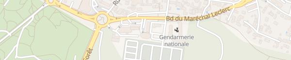 Karte Boulevard Maréchal Leclerc Saint-Jean-de-Monts