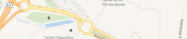 Karte Raspol Tankstelle Almería
