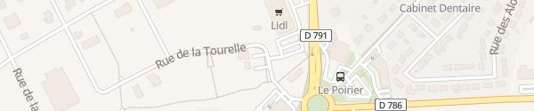 Karte Lidl Saint-Alban