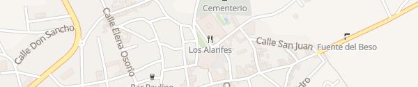 Karte Palacio Infante Don Juan Manuel Belmonte