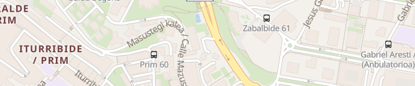 Karte Occidental Bilbao Bilbao