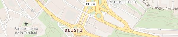 Karte Plaza Ugarteko Bilbao