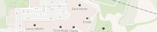 Karte Destination Charger Artea Shoppingcenter Leioa