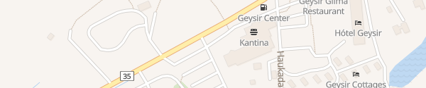 Karte Geysir Center Selfoss