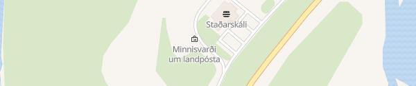 Karte N1 Tankstelle Staður