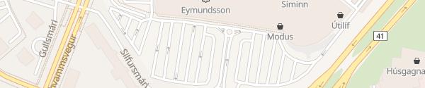 Karte Smáralind Kópavogur